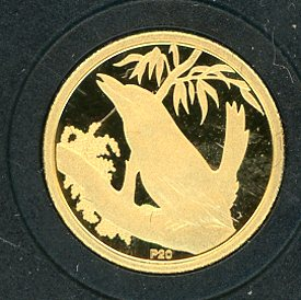 Thumbnail for 2009 Australian One Twentieth oz Gold Proof Kookaburra - 1992 Design