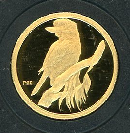 Thumbnail for 2009 Australian One Twentieth oz Gold Proof Kookaburra - 1995 Design