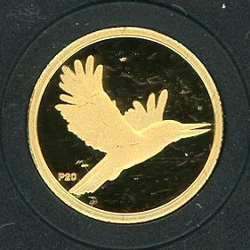 Thumbnail for 2009 Australian One Twentieth oz Gold Proof Kookaburra - 1996 Design