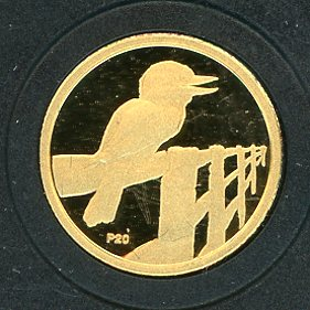 Thumbnail for 2009 Australian One Twenieth oz Gold Proof Kookaburra - 1998 Design