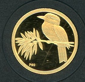 Thumbnail for 2009 Australian One Twentieth oz Gold Proof Kookaburra - 2000 Design