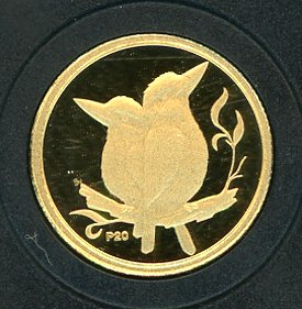 Thumbnail for 2009 Australian One Twentieth oz Gold Proof Kookaburra - 2001 Design