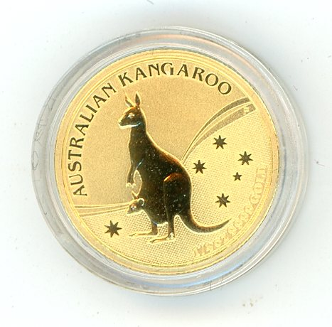 Thumbnail for 2009 Australian One Quarter oz Kangaroo in Capsule