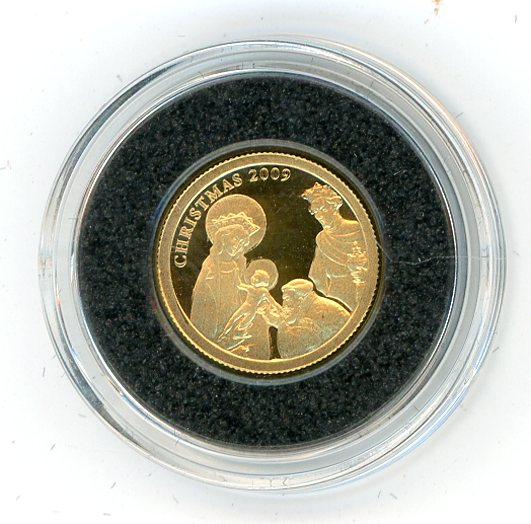Thumbnail for 2009 Palau One Twentififth oz .999 One Dollar - Palau Christmas