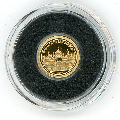 Thumbnail for 2009 Samoa 0.5 Gram .999 One Dollar - Saint Mark's Basilica
