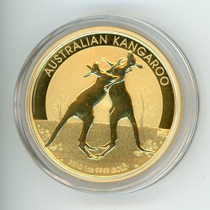 Thumbnail for 2010 1oz Specimen Kangaroo