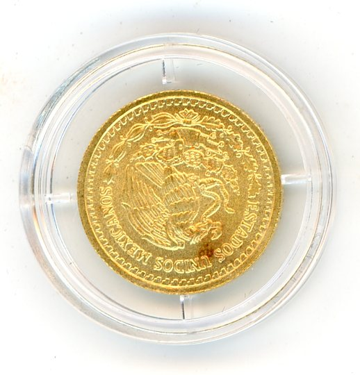 Thumbnail for 2010 One Tenth oz Mexico Gold Libertad & Certificate