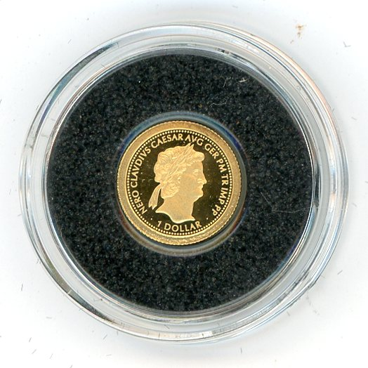 Thumbnail for 2011 Fiji .05 Gram .999 One Dollar - Nero Caesar