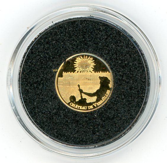 Thumbnail for 2011 France 0.5 Gram .999 Gold 5 Euro - Place of Versailles