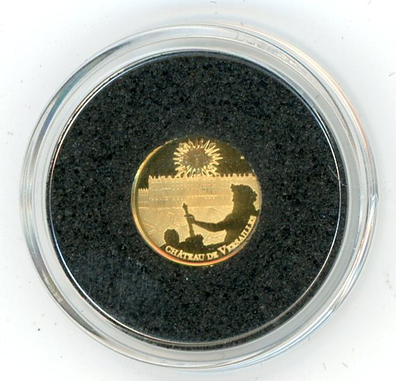 Thumbnail for 2011 France 0.5 Gram .999 Five Euro - Place of Versailles