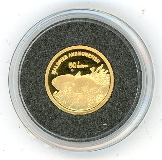 Thumbnail for 2011 Maldives One Twentififth oz .999 20 Rufiyaa - Anemonefish