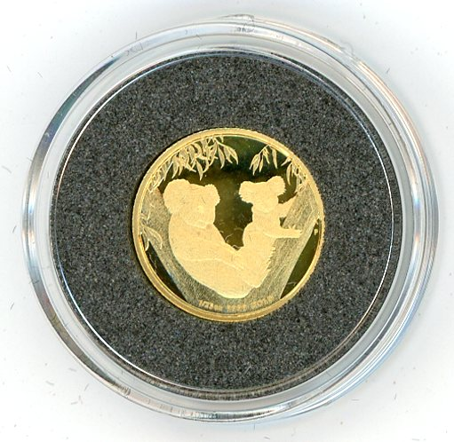 Thumbnail for 2011 One Twentififth oz Koala's Proof in Capsule