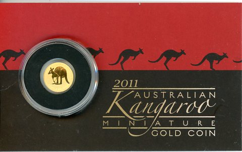 Thumbnail for 2011 $2 Gold Kangaroo 0.5gm