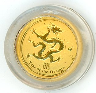 Thumbnail for 2012 One Twentieth oz Year of the Dragon