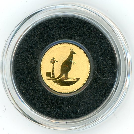 Thumbnail for 2012 0.5 Grams $2 Gold Kangaroo In Capsule