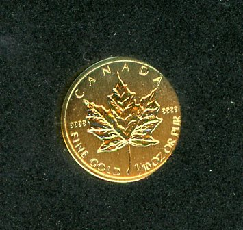 Thumbnail for 2013 One Tenth oz Canada Maple Leaf