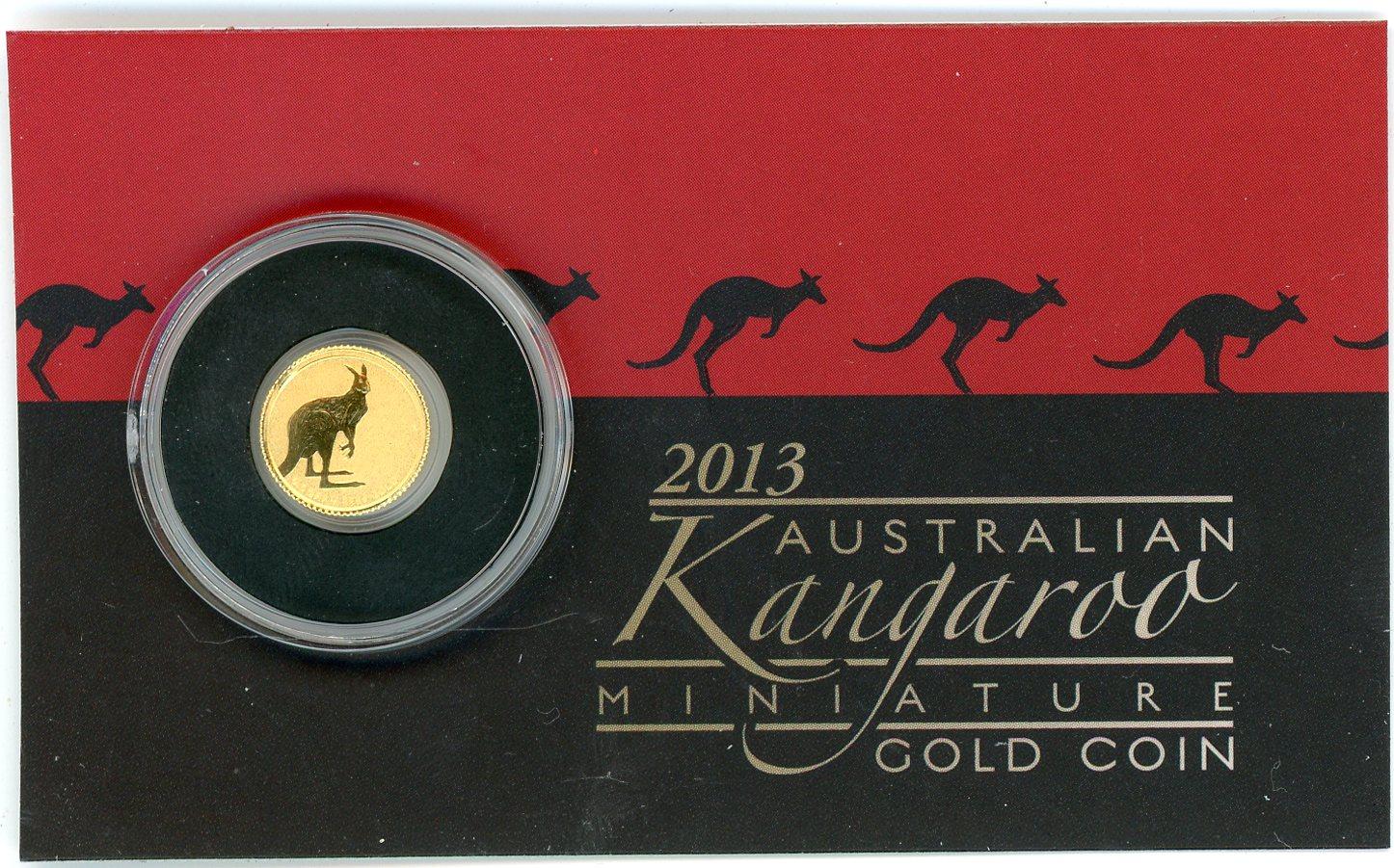 Thumbnail for 2013 0.5 Gram Kangaroo $2.00 Coin