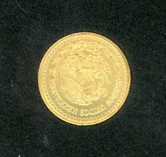 Thumbnail for 2013 Mexico One Tenth oz Gold