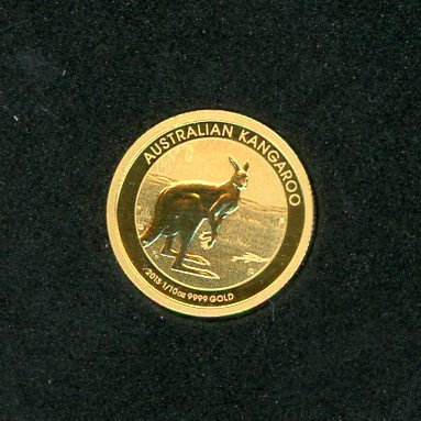 Thumbnail for 2013 One Tenth oz Kangaroo in Capsule