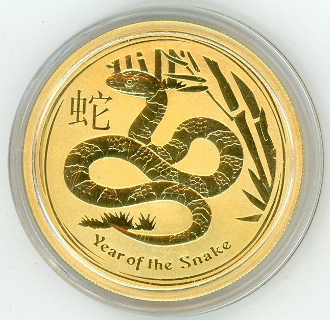 Thumbnail for 2013 Australian 1 oz Gold - Year of the Snake