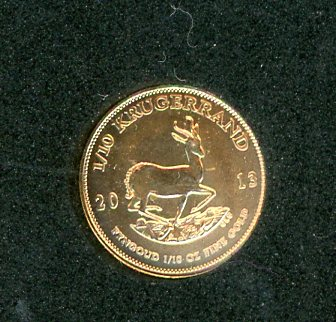 Thumbnail for 2013 South Africa One Tenth Krugerrand