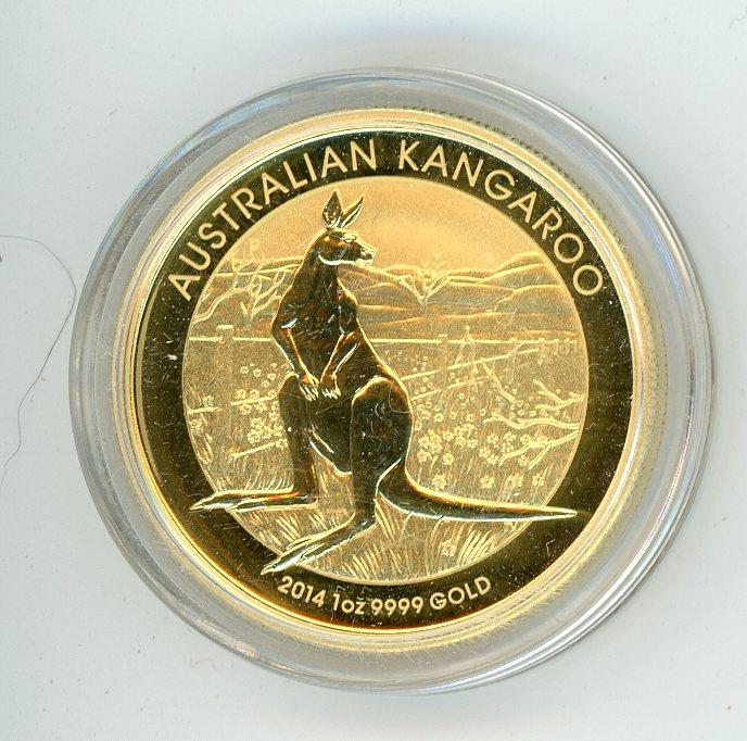 Thumbnail for 2014 1oz Specimen Kangaroo