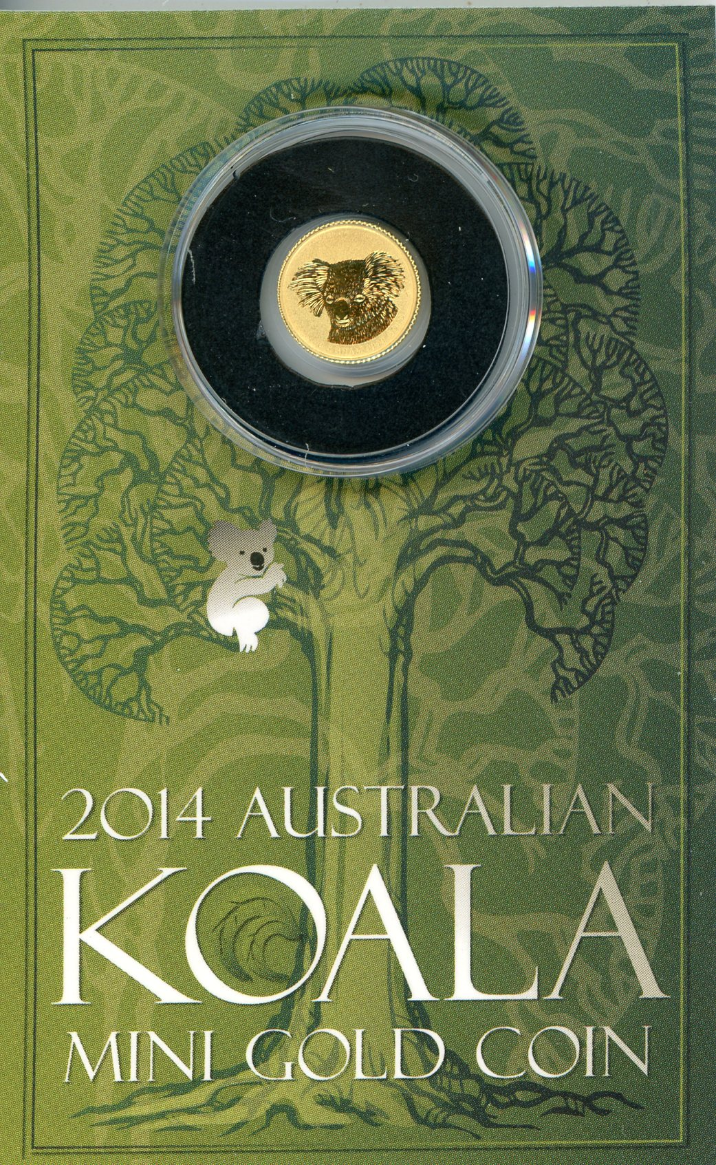 Thumbnail for 2014 Australian $2 Gold Koala .5 Gram