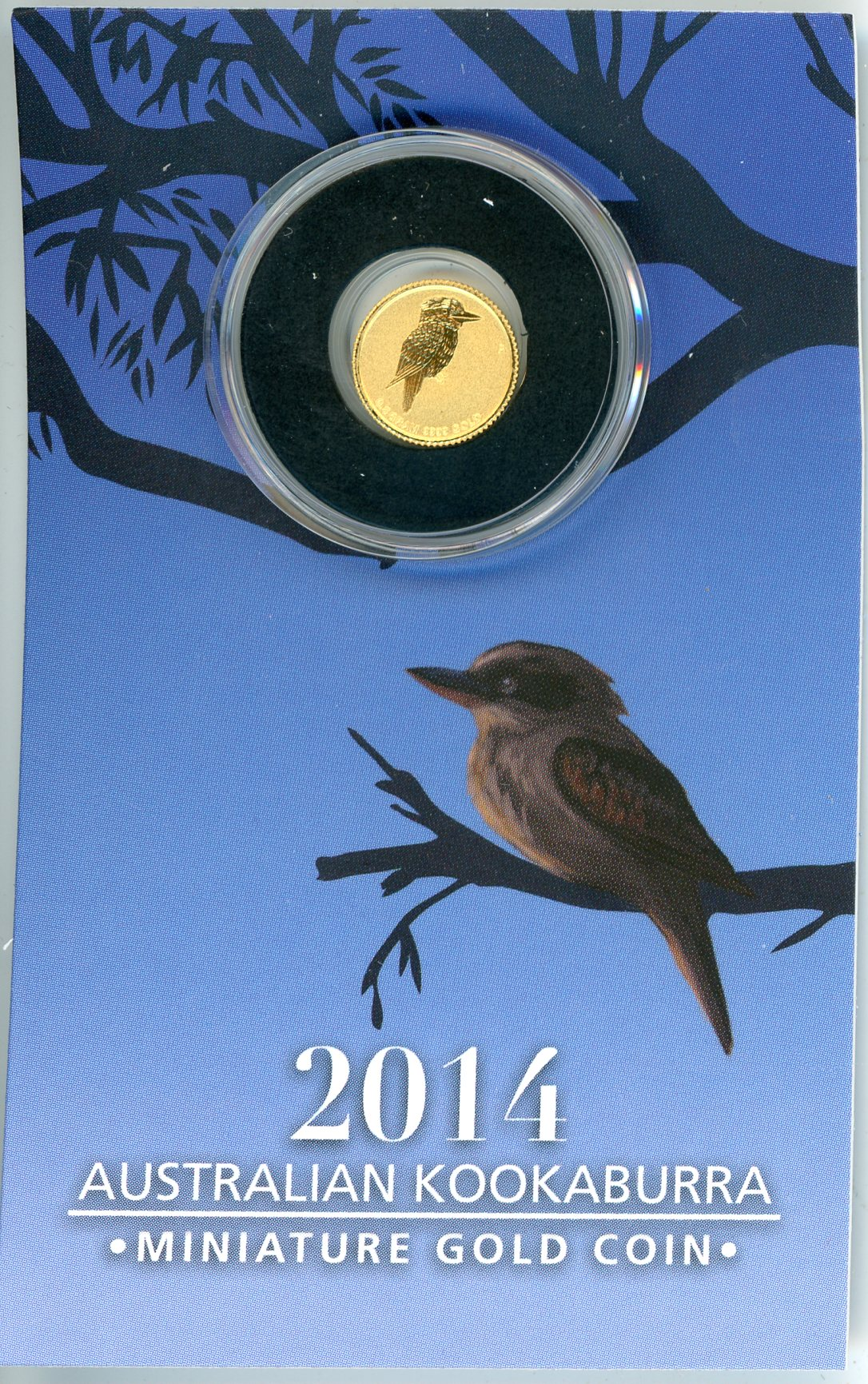 Thumbnail for 2014 Australian $2 Gold Kookaburra .5 Gram