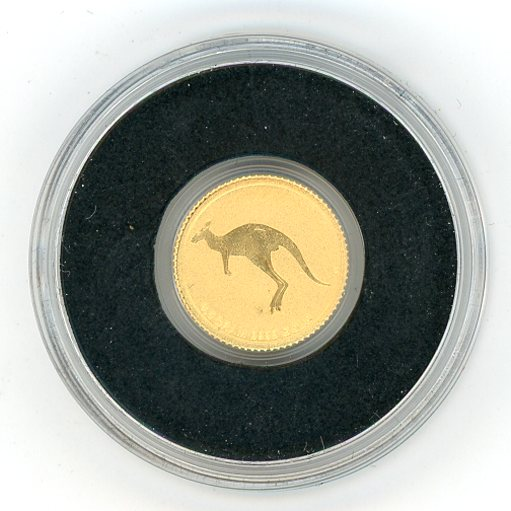 Thumbnail for 2015 Australia 0.5 Gram .999 Gold Two Dollars - Kangaroo
