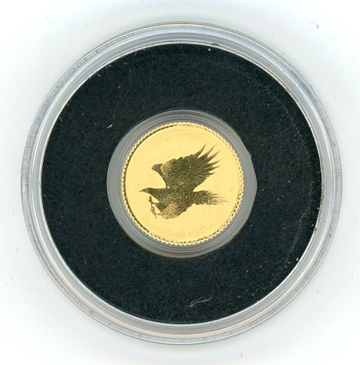 Thumbnail for 2015 Australia 0.5 Gram .999 Gold Two Dollar - Eagle