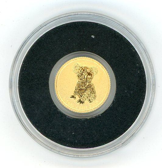 Thumbnail for 2015 Australia 0.5 Gram .999 Gold Two Dollars - Koala