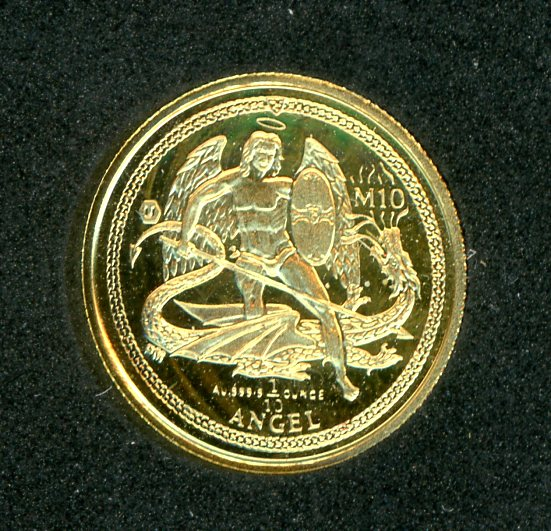 Thumbnail for 2016 One Tenth oz Isle of Man Gold Angel