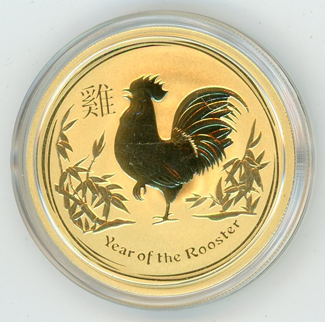 Thumbnail for 2017 Australian 1oz Gold - Year of the Rooster
