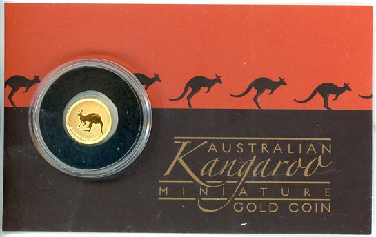 Thumbnail for 2019 0.5gm Kangaroo $2 Coin