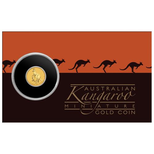 Thumbnail for 2020 0.5 gram Gold Kangaroo $2.00 Coin