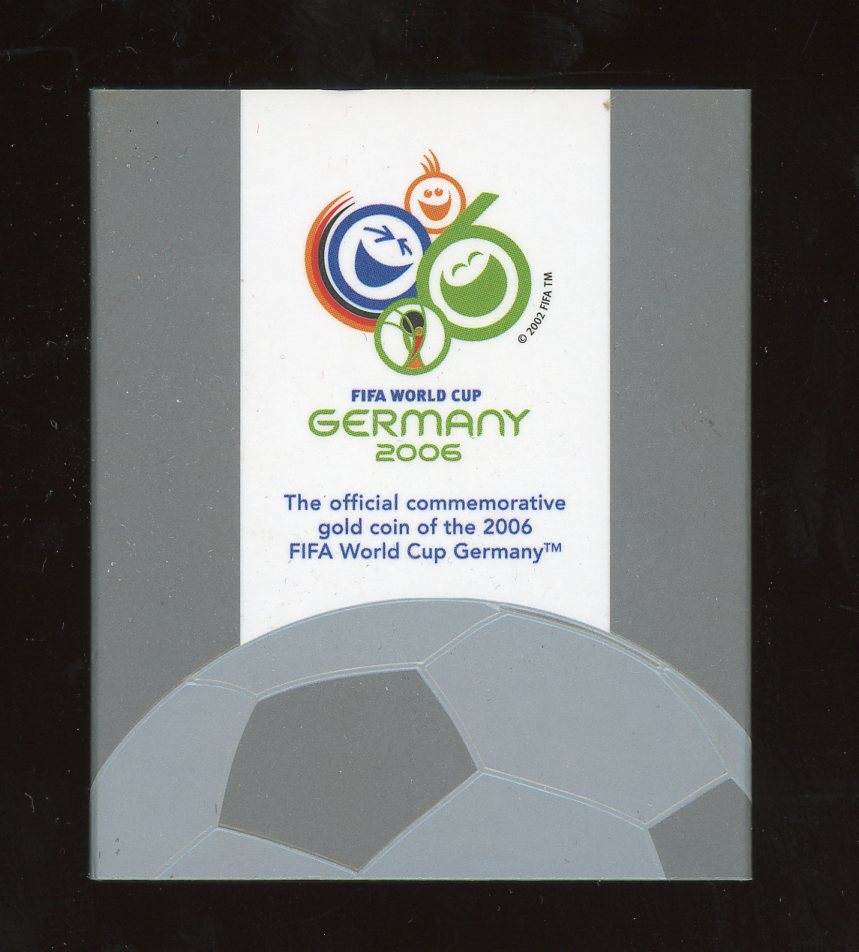Thumbnail for 2006 Australian FIFA World Cup One Twentyfifth oz Gold Proof Coin