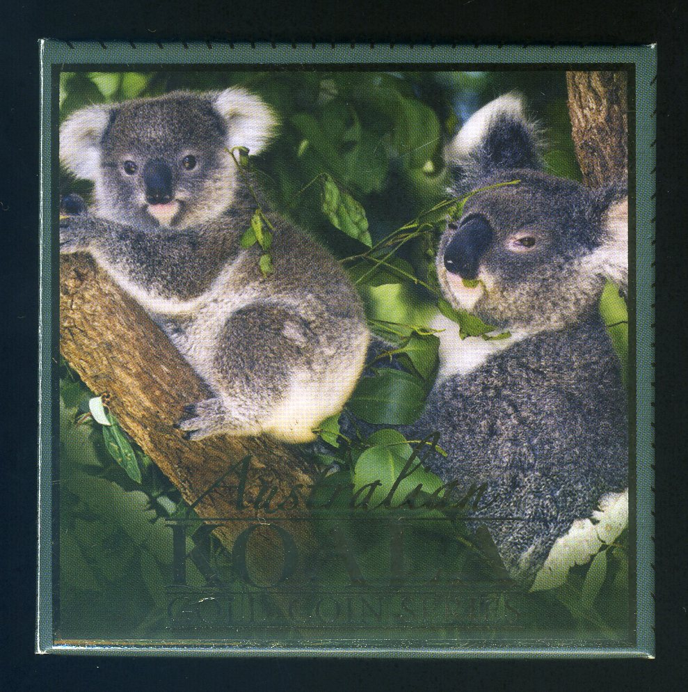 Thumbnail for 2009 One Twentyfifth oz Gold Proof Coin - Koala