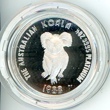 Thumbnail for 1988 Half oz Proof Koala in Capsule