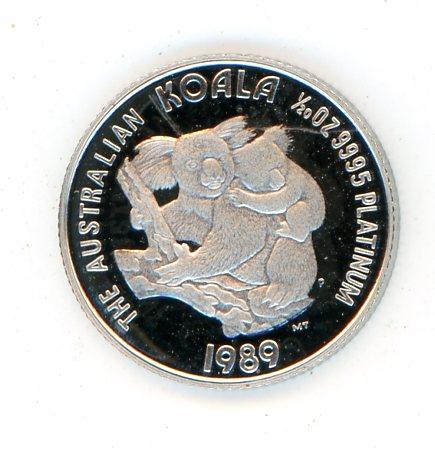 Thumbnail for 1989 One Twentieth oz Koala Proof