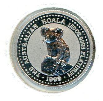 Thumbnail for 1999 One Tenth oz Australian Koala