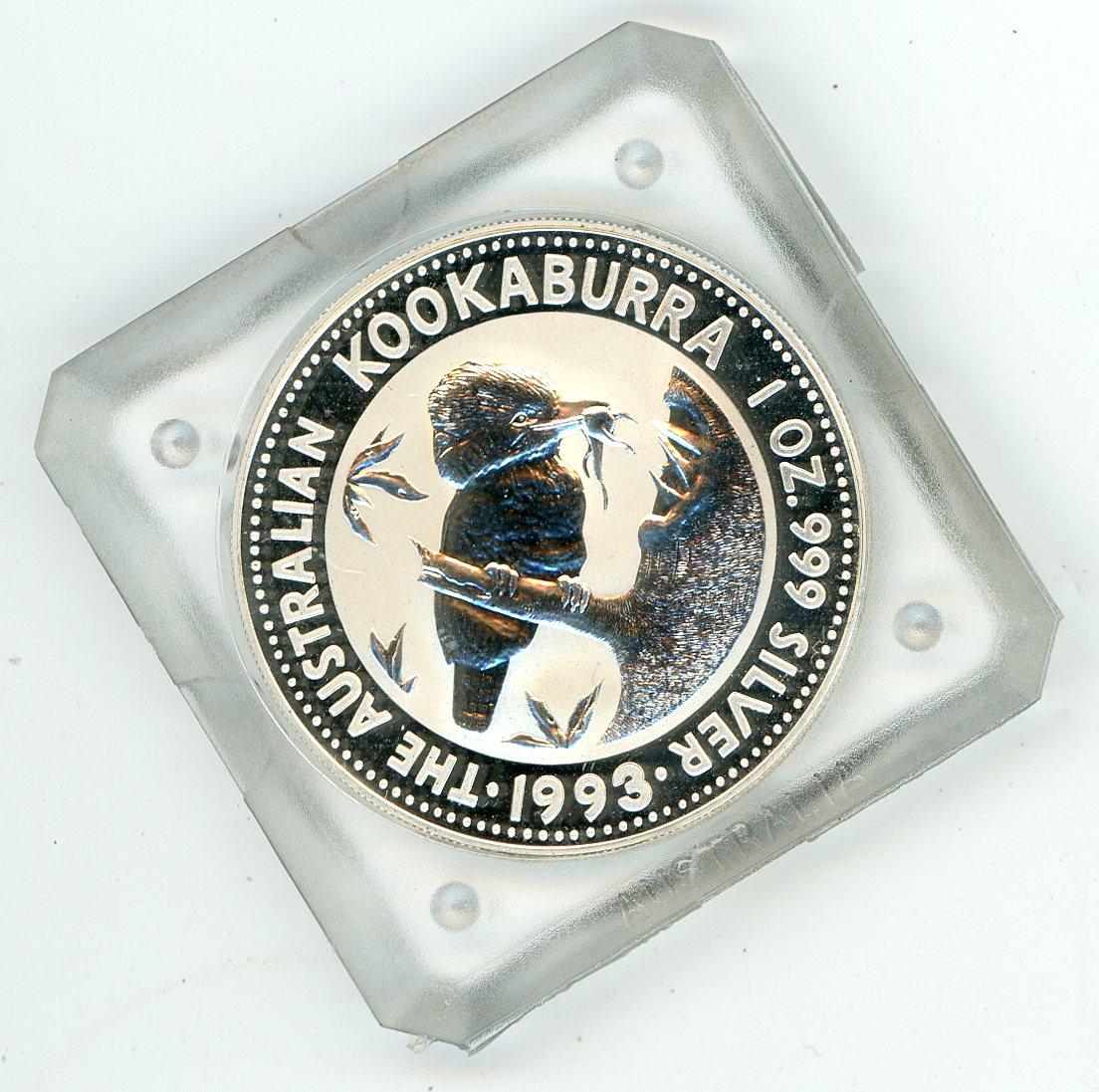 Thumbnail for 1993 1oz Silver Kookaburra In Capsule
