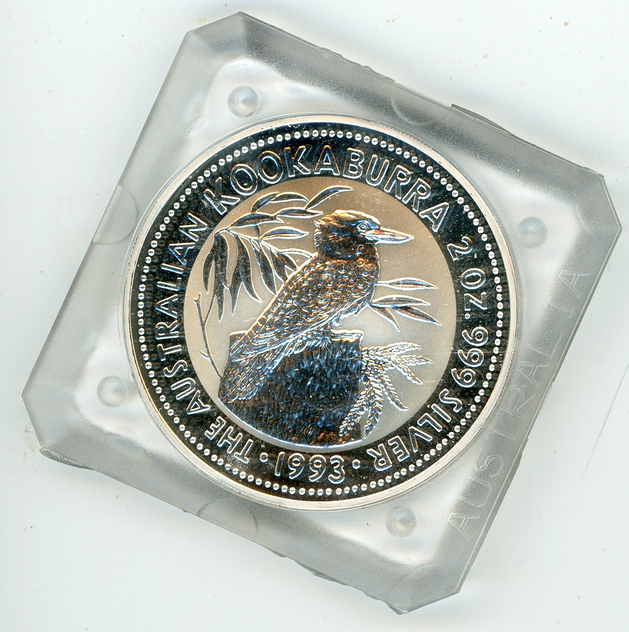 Thumbnail for 1993 2oz Silver Kookaburra In Capsule