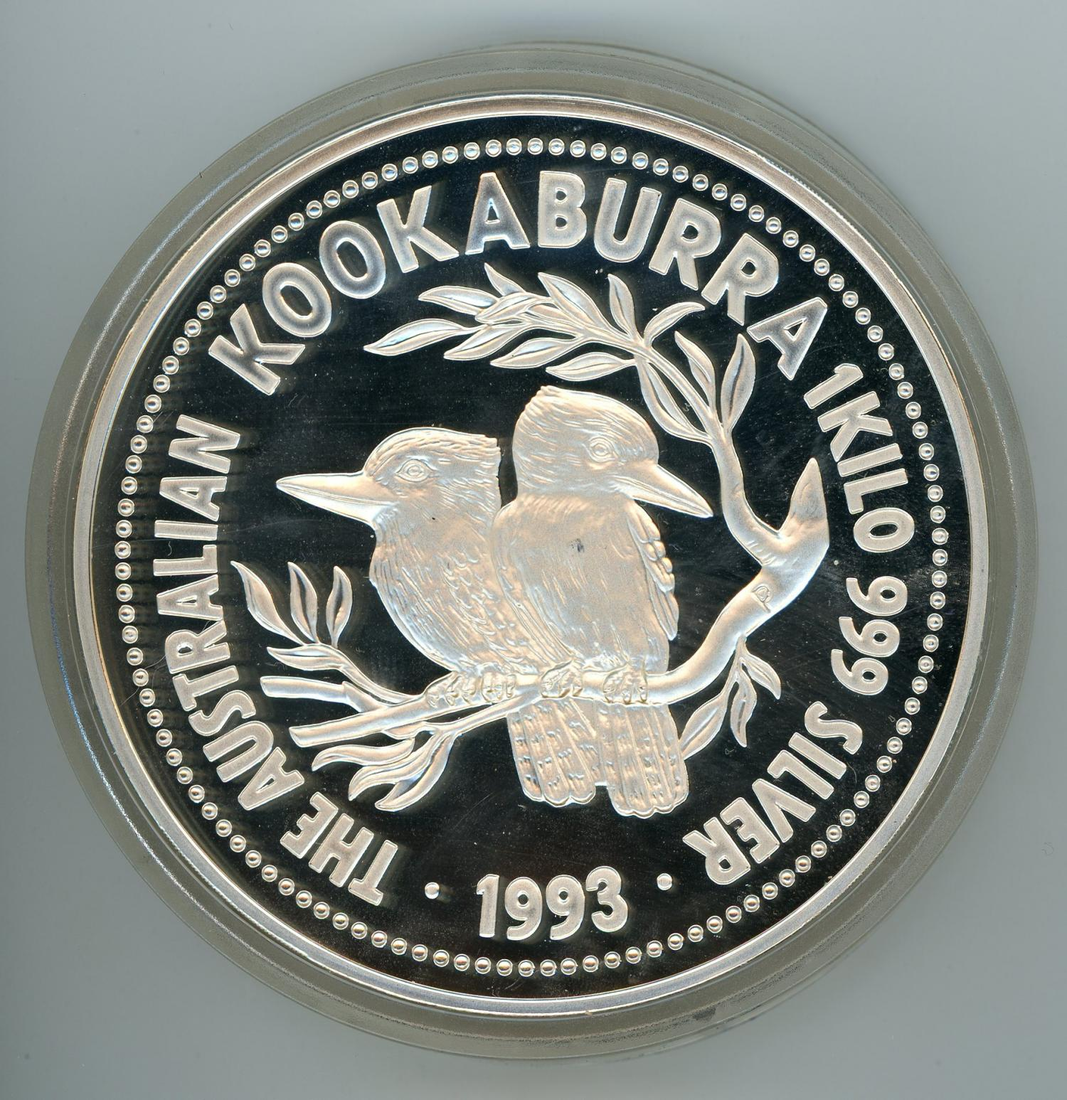 Thumbnail for 1993 One Kilo Proof Kookaburra