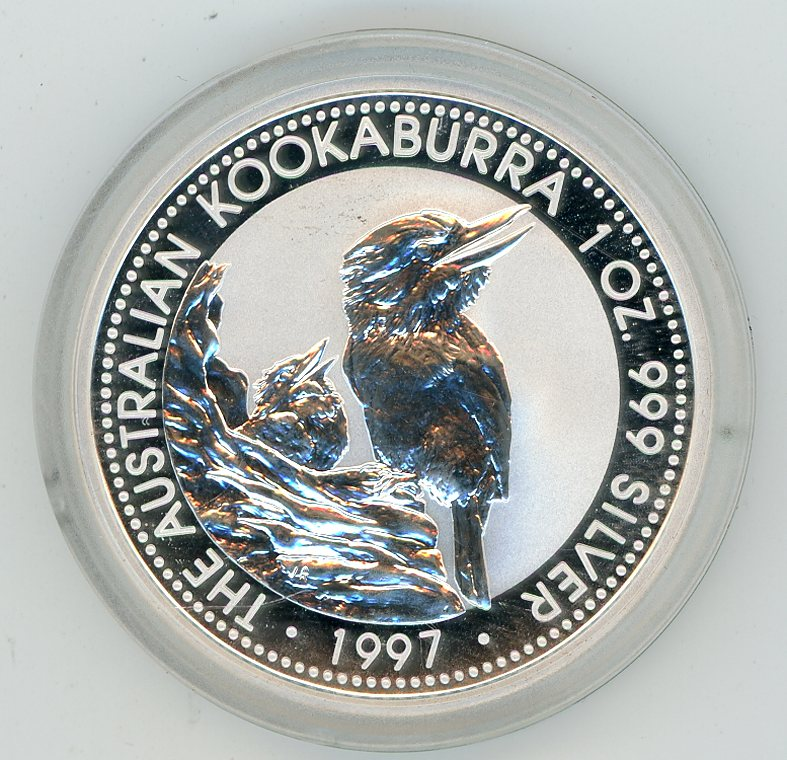 Thumbnail for 1997 1oz Kookaburra