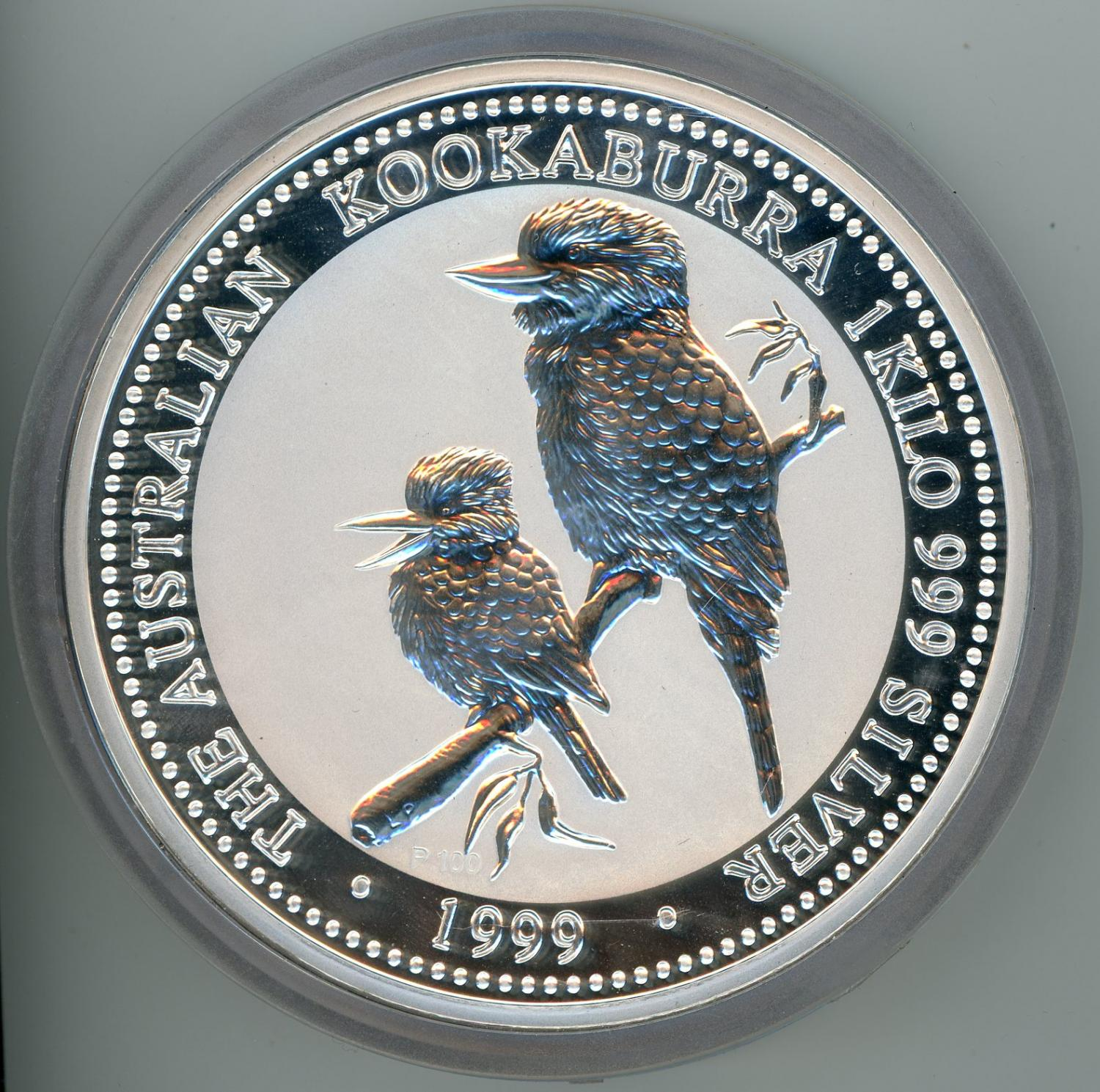 Thumbnail for 1999 One Kilo Silver Kookaburra