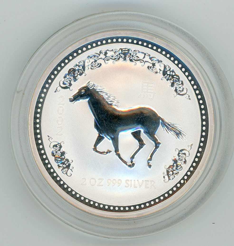 Thumbnail for 2002 2oz Lunar Year of the Horse Series 1