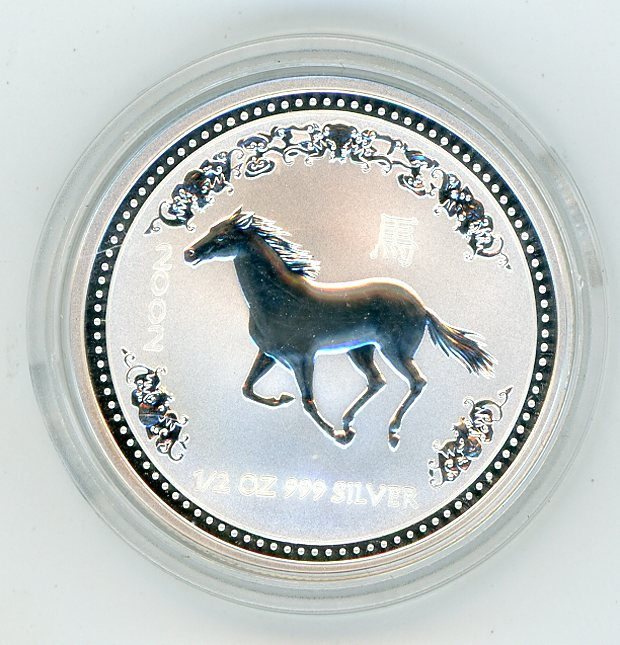 Thumbnail for 2002 Half oz Lunar Year of the Horse Series 1