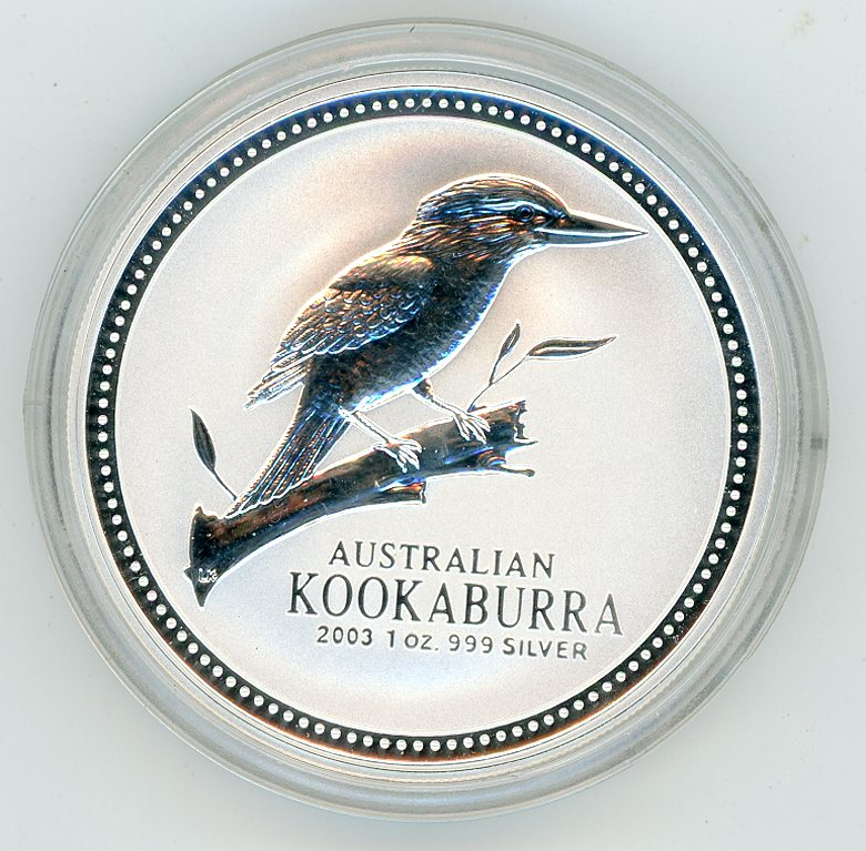 Thumbnail for 2003 1oz Kookaburra in Capsule