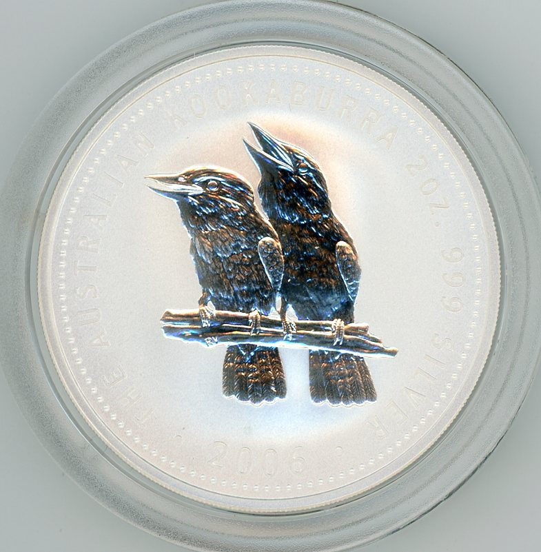 Thumbnail for 2006 Two oz Silver Kookaburra