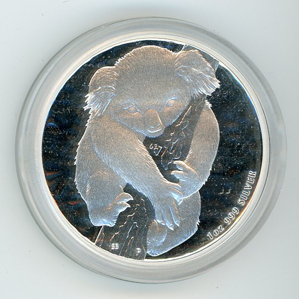Thumbnail for 2007 1oz Koala .999 Silver